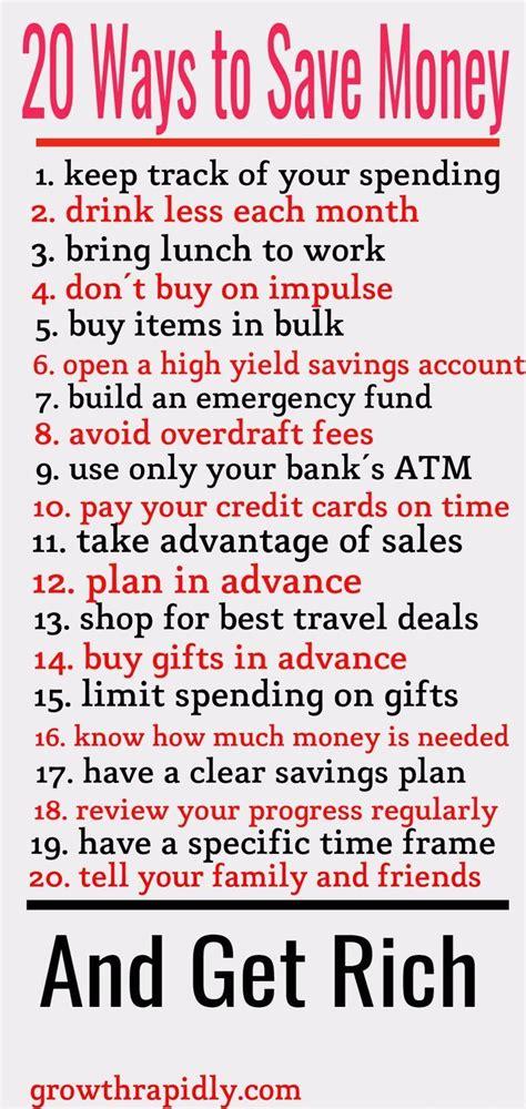 smart ways  save  money budget budgeting