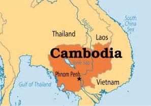 Cambodia World Map by Cambodia Operation World