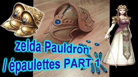 zelda pauldron pattern princess zelda cosplay pauldron part 1 233 paulette zelda