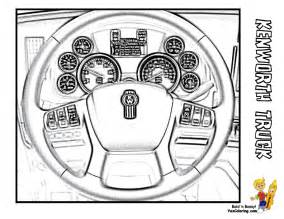 Wheels Truck Colouring Pages Big Rig Truck Coloring Pages Free 18 Wheeler Boys