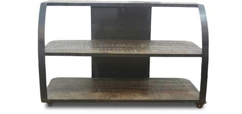 table de jardin bois 2398 meuble tv style industriel grange co bois pas cher