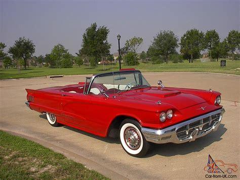 1960 Ford Thunderbird by 1960 Ford Thunderbird Ebay Autos Post