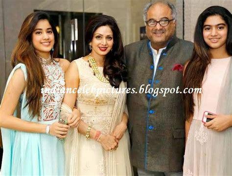 sridevi family indian celebs sridevi with family