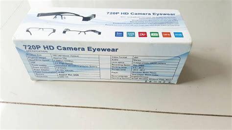 jual spycam kacamata 720p hd jual stungun kamera