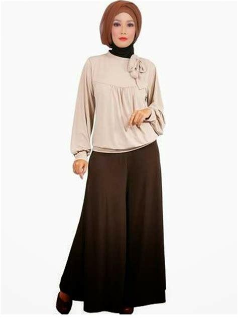 Bf 01 Baju Kerja Muslimah Panjang 9 model baju kerja kantor muslimah yang trendy dan elegan modelbusana