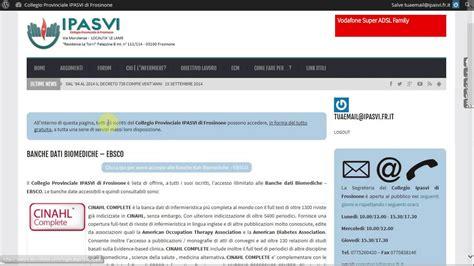 banche frosinone come accedere ed utilizzare le banche dati ebsco www opi