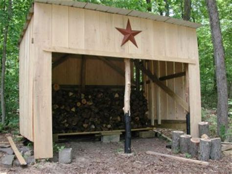 holzschuppen ideen 10 wood shed plans to keep firewood the self