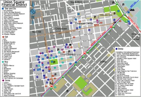 san francisco downtown map union square map of hotels in san francisco union square michigan map