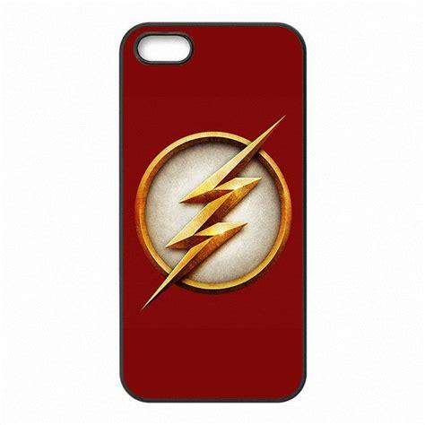 flash dc comics phone covers shells hard plastic cases  iphone     se