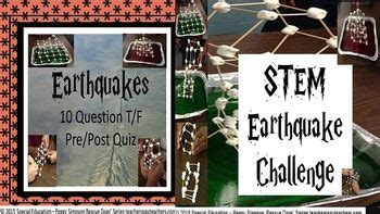earthquake quiz true or false 17 best images about project based learning on pinterest