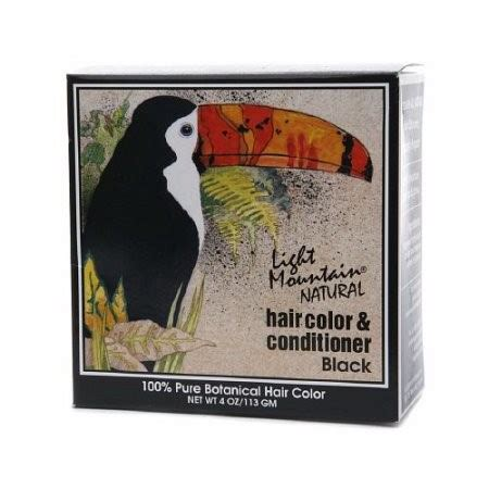 light mountain natural hair color conditioner light mountain natural hair color and conditioner black 4
