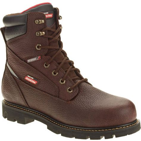 waterproof boots walmart genuine dickies s jobrated brawn waterproof work boot