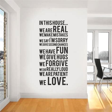 home design quotes wall decal quote interior design ideas