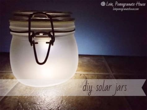 Diy Solar Jar Lights 37 Fabulous Jar Diys For Summer