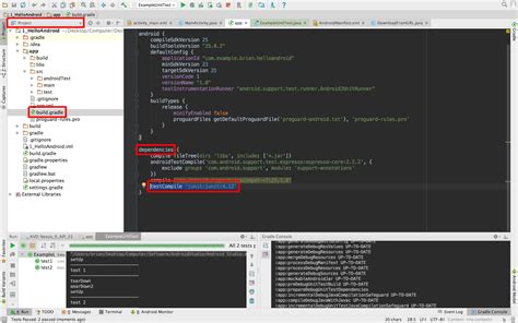 Android Junit by 鳴黎的筆記 Android Androidstudio 單元測試 Junit