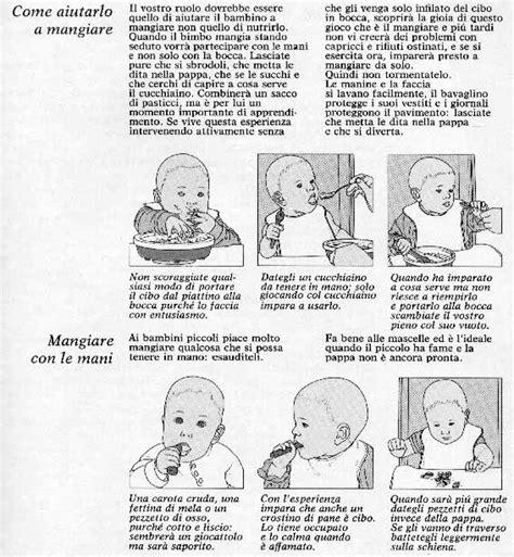 svezzamento schema alimentare schema di svezzamento