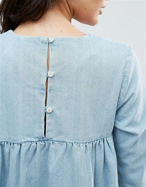 Baby Blue Blouse Girly baby accessories chambray shirt baby blue blouse button up casual