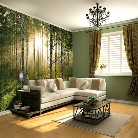 wall murals wallpaper 1 wall wallpaper mural forest 3 15m x 2 32m