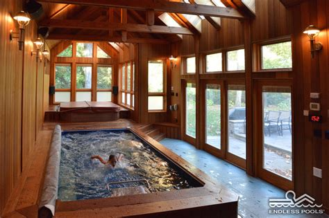 How To Add A Sunroom Indoor Original Endless Pool 174 Craftsman Pool