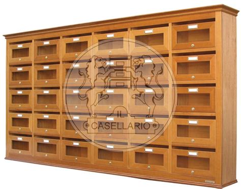cassette postali in legno casellari postali in legno il casellario acp le palme
