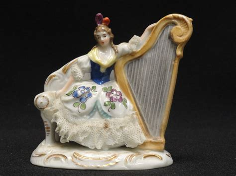 antique 19c dresden sitzendorf thuringia porcelain
