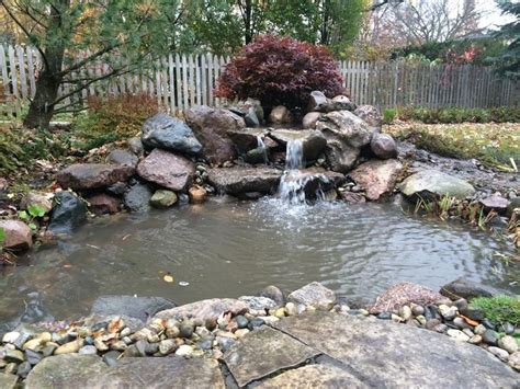 backyard koi fish pond builder macomb oakland