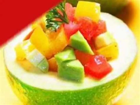 youtube membuat salad salad buah alpukat selada buah alpukat resep salad
