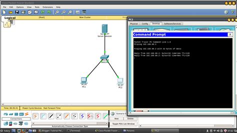 cisco packet tracer dhcp server tutorial setting dhcp server dan client pada packet tracer