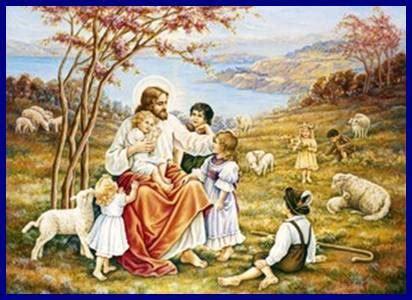 imagenes biblicas de jesus con niños jesus y los ni 209 os