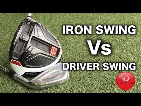 iron vs driver swing golf swing basics golf swing made simple
