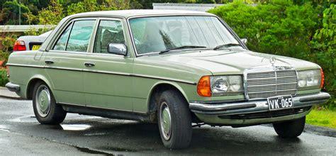 123 Search Australia File 1976 1979 Mercedes 280 E W123 Sedan 2011 07