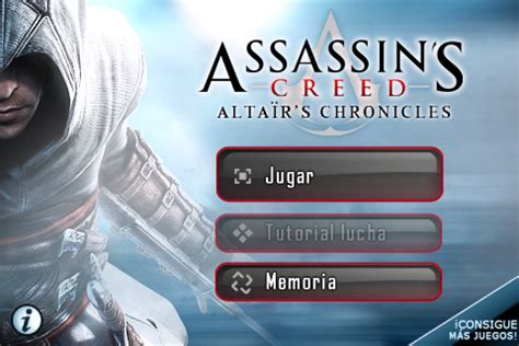 assassins creed altairs chronicles apk assassins creed alta 239 rs chronicles hd v3 x x para android apk todo para tu celular gratis