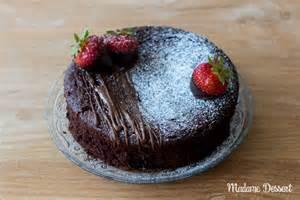 schoko kuchen schokokuchen madame dessert