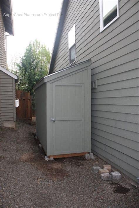 slant roof slant roof shed plans 4 x 10 shed detailed building
