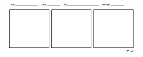 free printable comic template printable comic template