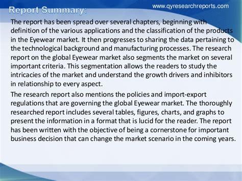 global eyewear market 2015 industry analysis research