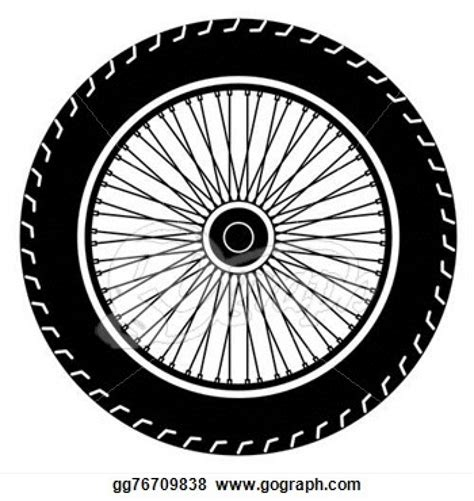 eps clipart vector motorcycle wheel vector eps clipart gg76709838