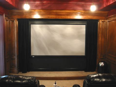 motorized home theater curtains home theater drapes home theatre classic brown wooden home