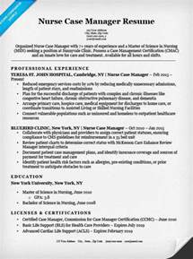 manager resume sle resume companion