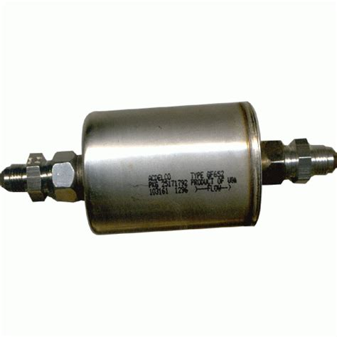 pace performance efi fuel filter   fittings