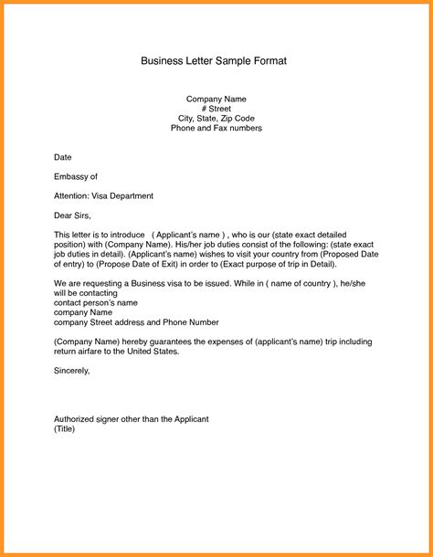 Business Letter Format Template Word Letters Free Sle Letters Letter Template Word