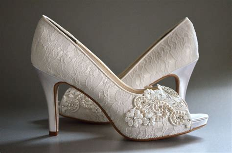 Womens Wedding Shoes by Lace Wedding Shoes Womens Wedding Shoes Bridal Shoes