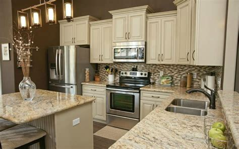 kitchens with granite countertops white cabinets granite kitchen countertops for that exquisite look