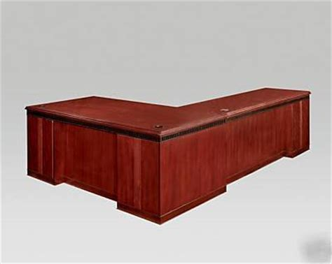 large l desk large l shaped corner desk mahogany finish extra long