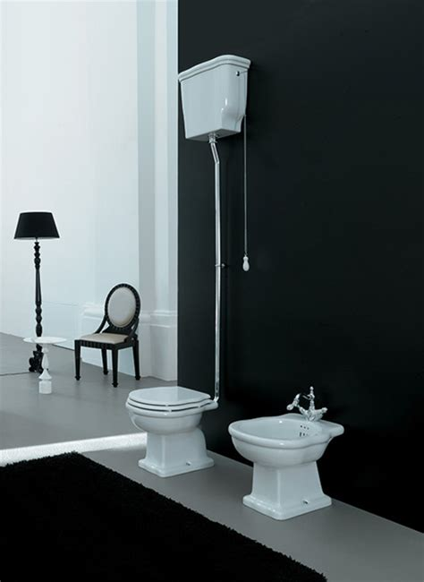 cassetta alta wc sanitari bagno classici con cassetta alta hermitage