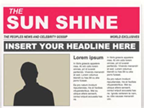 editable powerpoint newspapers