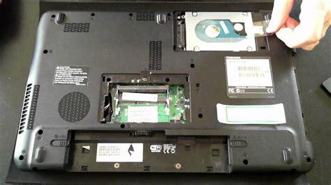 reset bios toshiba satellite c655 toshiba satellite pro c650 tear down opening youtube