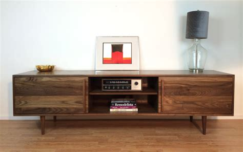 tv credenza kasse credenza tv stand 84 in solid walnut