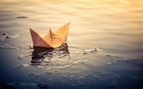 paper boat drinks rate wallpaper paper boat puddle 1920x1200 hd picture image