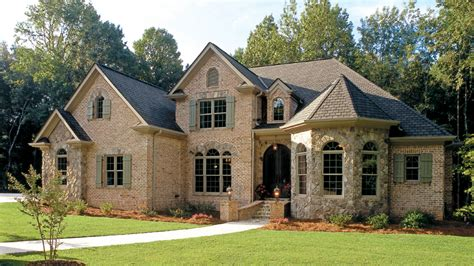 new american house plans and new american designs at